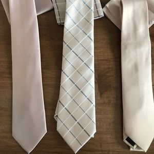 Other - Blush Ties and Matching Pocket Square NEW!!!